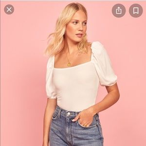 Reformation Rosa Top NEW